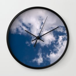 Blue Sky Wall Clock