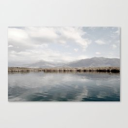 Lake Of Tranquility Canvas Print