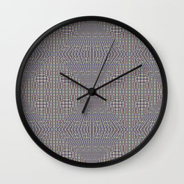 Fine Grain Quilt of Quilts Wall Clock