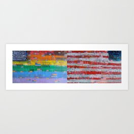 Flags for The Future 29 Art Print