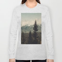 Snow capped Sierras Long Sleeve T-shirt