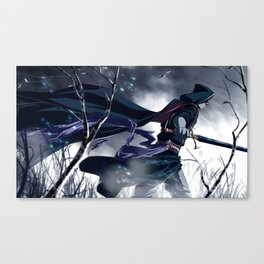 Cold Steel Canvas Print