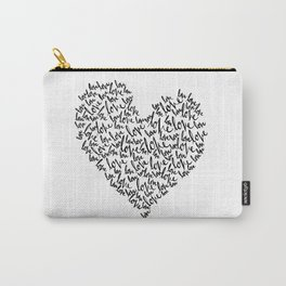 Heart Full Carry-All Pouch