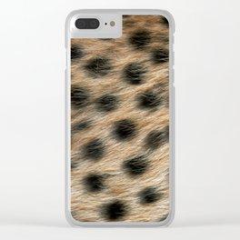 """""""Pop Safari 02 Leopard"""" Clear iPhone Case"""