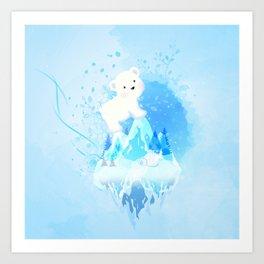 Save Polar Bear! Art Print