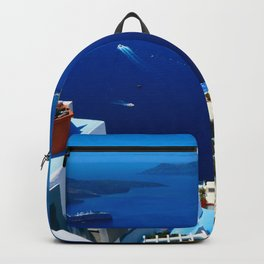 Santorini Caldera Backpack