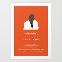 Pushing Daisies - Coroner Art Print