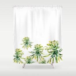 Euphorbia II Shower Curtain