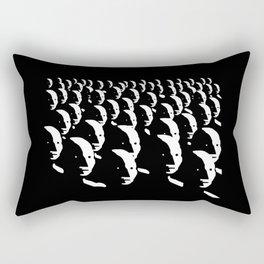 NPC Wojak Group - Meme Rectangular Pillow