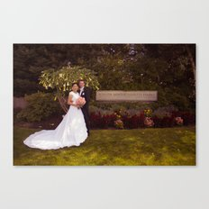 Oliver and Soye - Sign Canvas Print