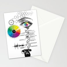 seeing, hearing and knowing Stationery Cards