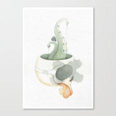 Squid Brain Canvas Print