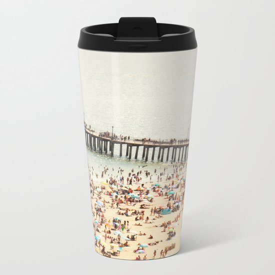 The Summers we leave behind Metal Travel Mug