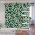 WILD THING GEO PATTERN BLUE GREEN by piaschneider