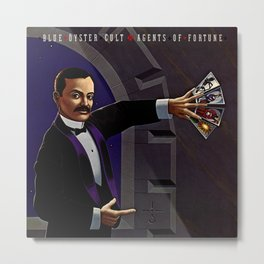 Blue Öyster Cult: Agents Of Fortune Metal Print