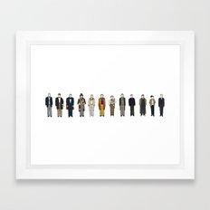 Dr Who Framed Art Print