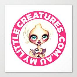 My Little Creatures Canvas Print