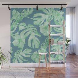 Aloha Leaves Wall Mural