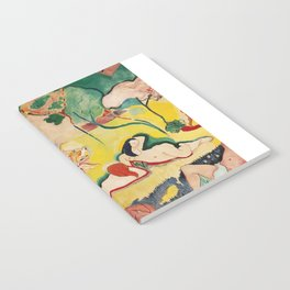 The Joy of Life - Henri Matisse - Exhibition Poster Poster Notebook