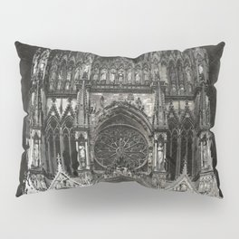 Cathedral Black Pillow Sham