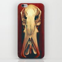 platypus iPhone & iPod Skins featuring Platypus Skull by Noa Katzir