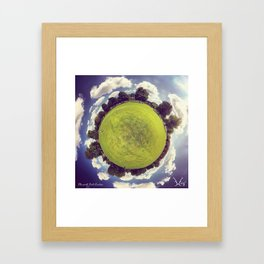 PARK PLANET PROJECT - CHISWICK PARK LONDON Framed Art Print