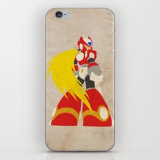 I'm a Maverick (Hunter) (Megaman Zero) iPhone & iPod Skin