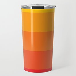 Retro Sunrise Travel Mug