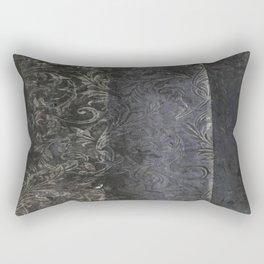 collage black Rectangular Pillow