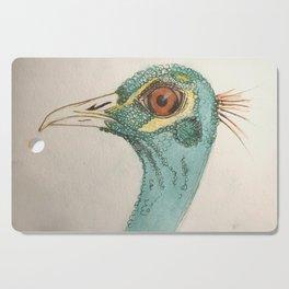 peacock Cutting Board