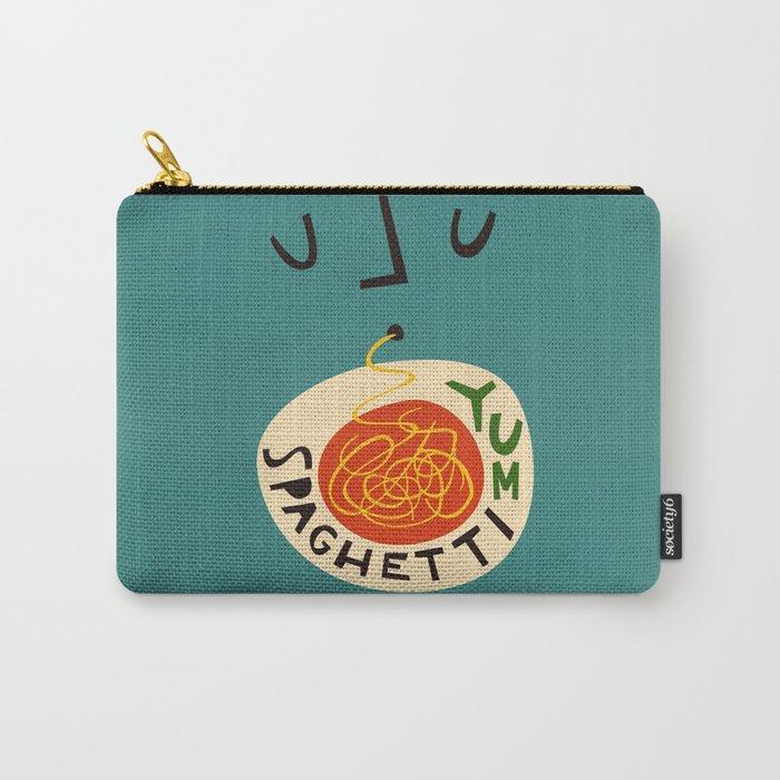 Yum Spaghetti Carry-All Pouch