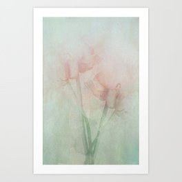 Soft touch Art Print