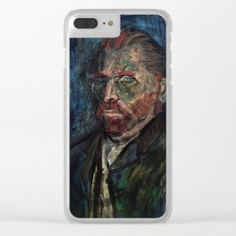 Vincent van Gogh (oil on canvas) Clear iPhone Case