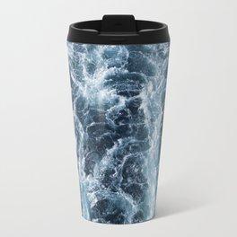 Sea Blue Wake - Pacific Ocean Travel Mug