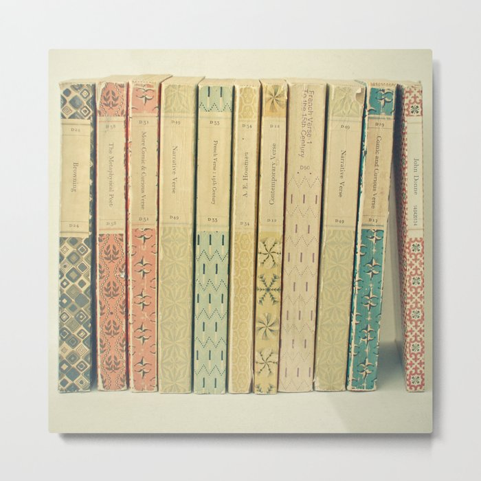Old Books Metal Print