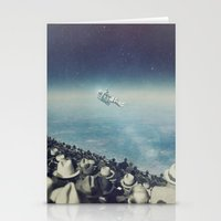 astronaut Stationery Cards featuring Astronaut by MiraRuido