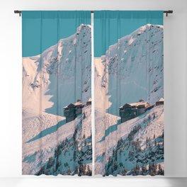 Mt. Alyeska Ski Resort - Alaska Blackout Curtain