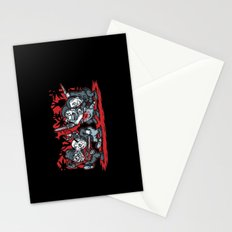 Where the Slashers Are (Grayscale) Stationery Cards