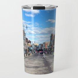 Memphis Beale Street in Technicolor Travel Mug