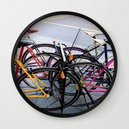 Parallel Parking Shuffle Wall Clock