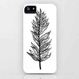 Ferns of a Feather Flock Together, II iPhone Case