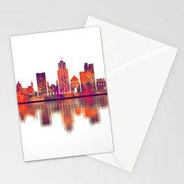 Palermo Italy Skyline Stationery Cards