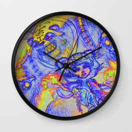 Annie and Tibbers Wall Clock