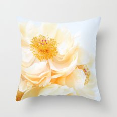 Honeybee Paradise Throw Pillow