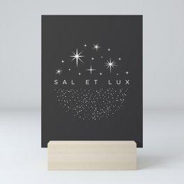 Sal et Lux Mini Art Print