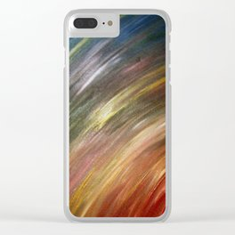 Roundabout Clear iPhone Case