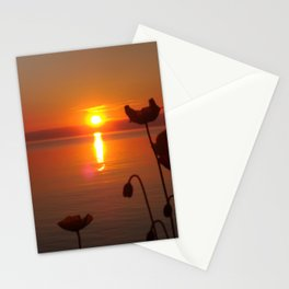 Sunset at the Riviera I Stationery Cards