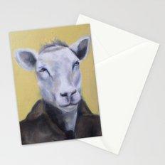 Sheep Portrait Stationery Cards
