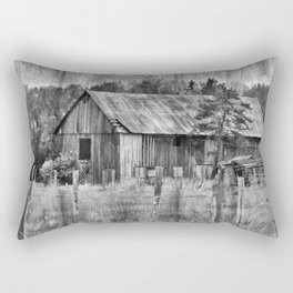 Vintage Barn Rectangular Pillow