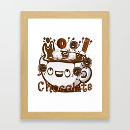 Hot Chocolate! Framed Art Print